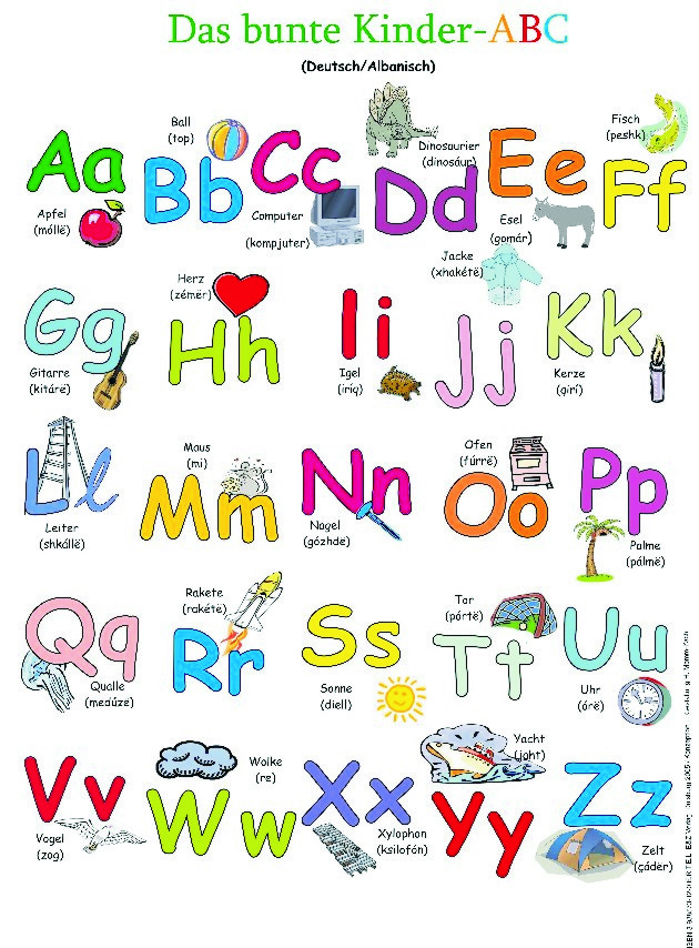 abc poster f r kinder pictures to pin on pinterest. Black Bedroom Furniture Sets. Home Design Ideas