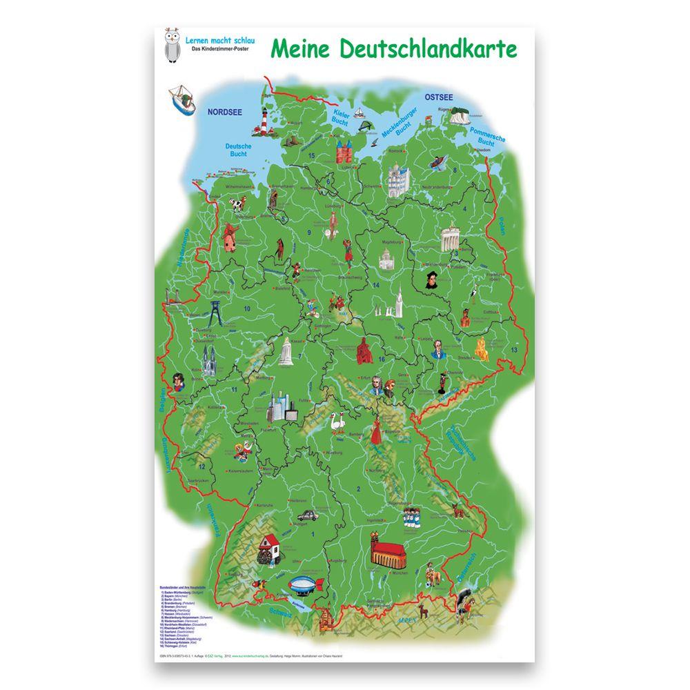 meine deutschlandkarte Meine Deutschlandkarte   E&Z Verlag GmbH