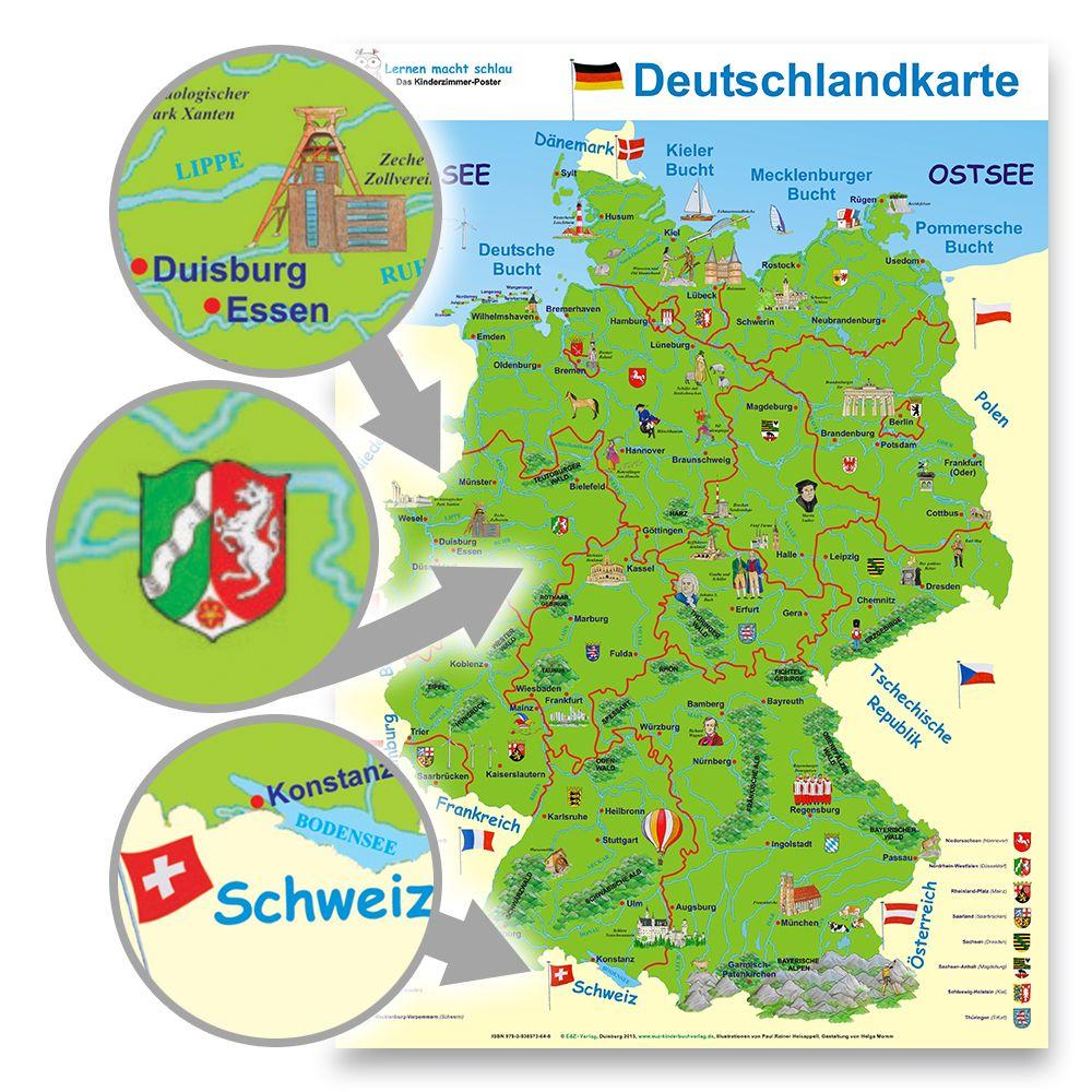 Deutschlandkarte E Z Verlag Gmbh
