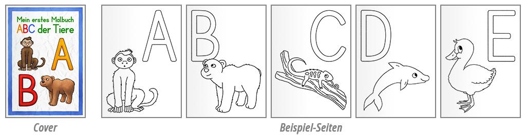 Geschenke ABC der Tiere Beispiel