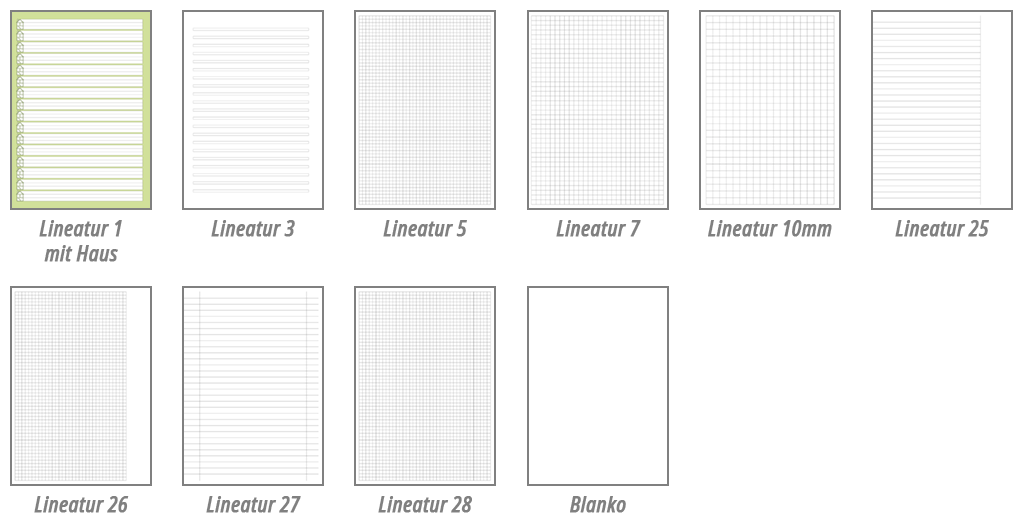 Lineaturen
